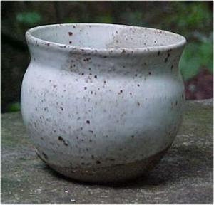 Ceramic Bowl that has been glaze fired