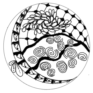 Tangle Pattern Ornament